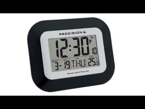 6f98146f0c2 My Precision PREC0097 Radio Controlled LCD Wall Mountable And Desk Clock  Review