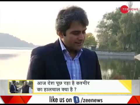 DNA: Governor of Jammu and Kashmir, Satya Pal Malik speaks to Sudhir Chaudhary