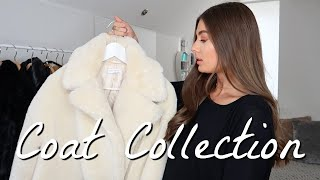 My Winter Coat Collection | Boohoo, Topshop, PLT & more | AMY-BETH
