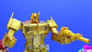 Transformers Animation Compilation - Optimus Prime, Bumblebee, Starcream Robot Truck Wars Car Toys!