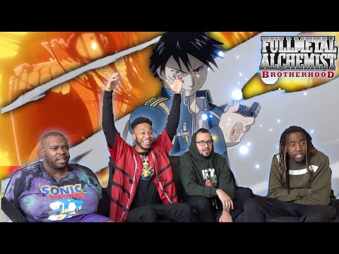Mustang Obliterates Lust! Full Metal Alchemist: Brotherhood Episode 18 & 19 REACTION/REVIEW
