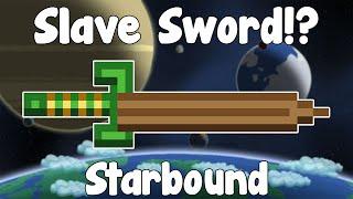 Slave Sword , Legend of Zelda Reference!? - Starbound Nightly Build
