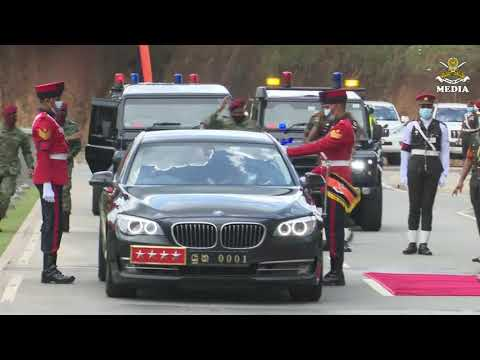 Promoted General Shavendra Silva Honoured in AHQ 31.12.2020