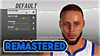 How To Make Your MyPlayer EXACTLY Like Stephen Curry NBA 2K19   Steph Curry Face Creation & Build