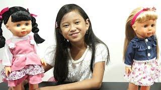 Mainan Anak Boneka Lucu 💖 New BELINDA Walking Talking Doll 7L 💖 Let's Play Jessica Jenica