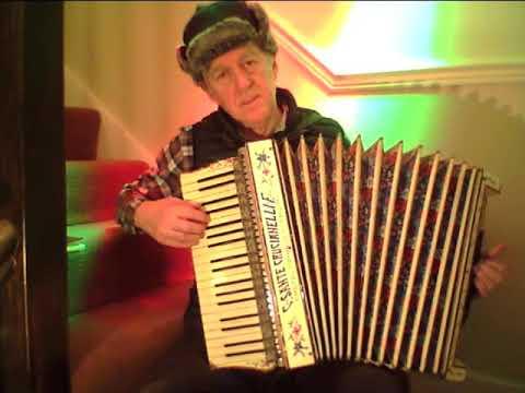Kalinka Russian song,  Italian accordion
