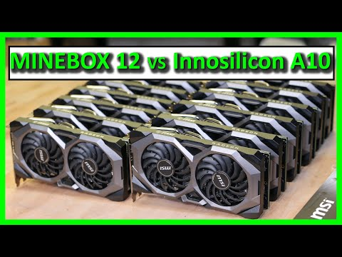 MineBox 12 RX5700 GPU mining rig vs ASIC miner A10 for Ethereum mining !?