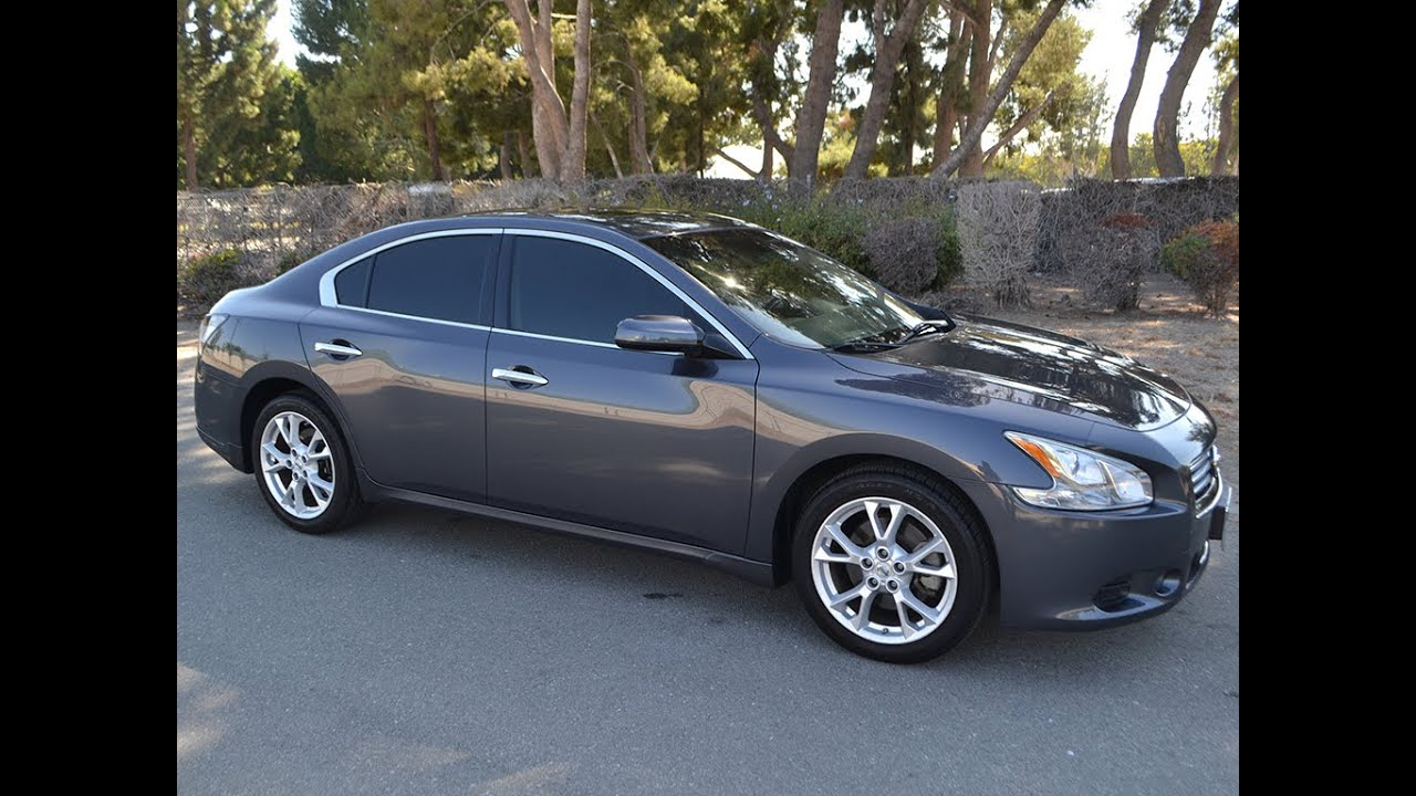 SOLD 2012 Nissan Maxima with 20k Miles for sale by Corvette Mike ...