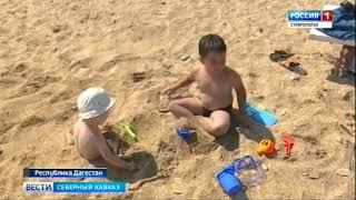 В Дагестане турист из Липецка спас тонущих в море детей