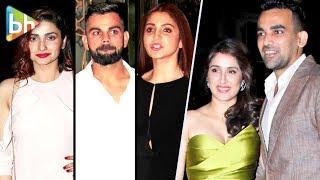 Anushka Sharma | Virat Kohli | Prachi Desai At Zaheer Khan - Sagarika Ghatge's Engagement Ceremony