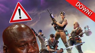 Fortnite Servers Down Cómo Solucionar **NO PATCHED**