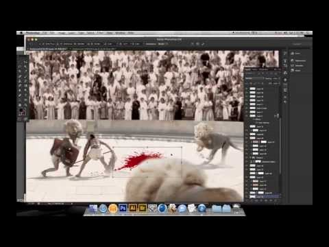 The Making-of of Temour's Photo Montage for Wunderman Amman's 10th Anniversary