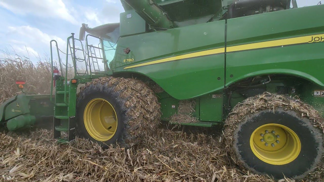 First Day of Corn with the S780! - #526