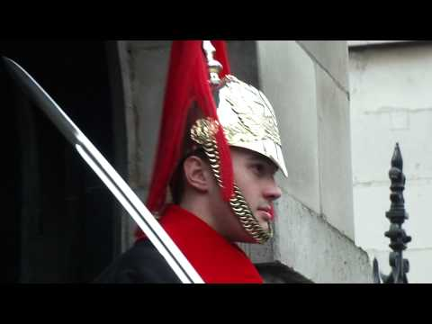 Horse Guard in London, England  ★1080p HD★