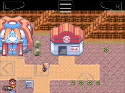 Pokemon Super Mega Emerald #6 Mega Stone e EXP Share
