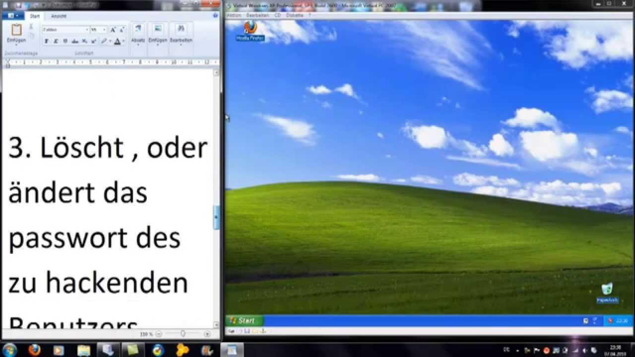 Windows Xp Passwort Entfernen