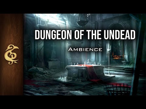 🎧 RPG / D&D Ambience - Dungeon Of The Undead | Banshees, Haunted, Ghosts, Eerie