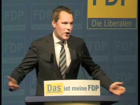DAS ist meine FDP - Daniel Bahr auf dem Landesparteitag in Gütersloh