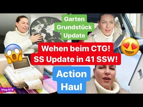 Action Haul l Letzter Frauenarzt Termin? Update! SSW 41 l Haus/Garten Update l Vlog 978