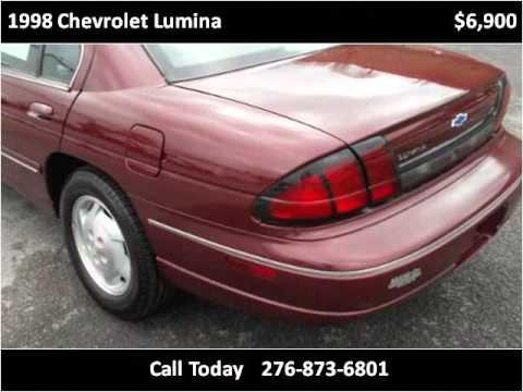1998 Chevrolet Lumina Used Cars Honaker VA. Modern Chevrolet Sales