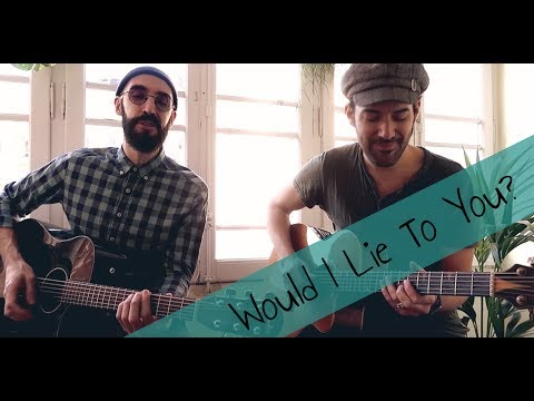 Charles & Eddie - Would I Lie To You? (Barcelona acoustic session)