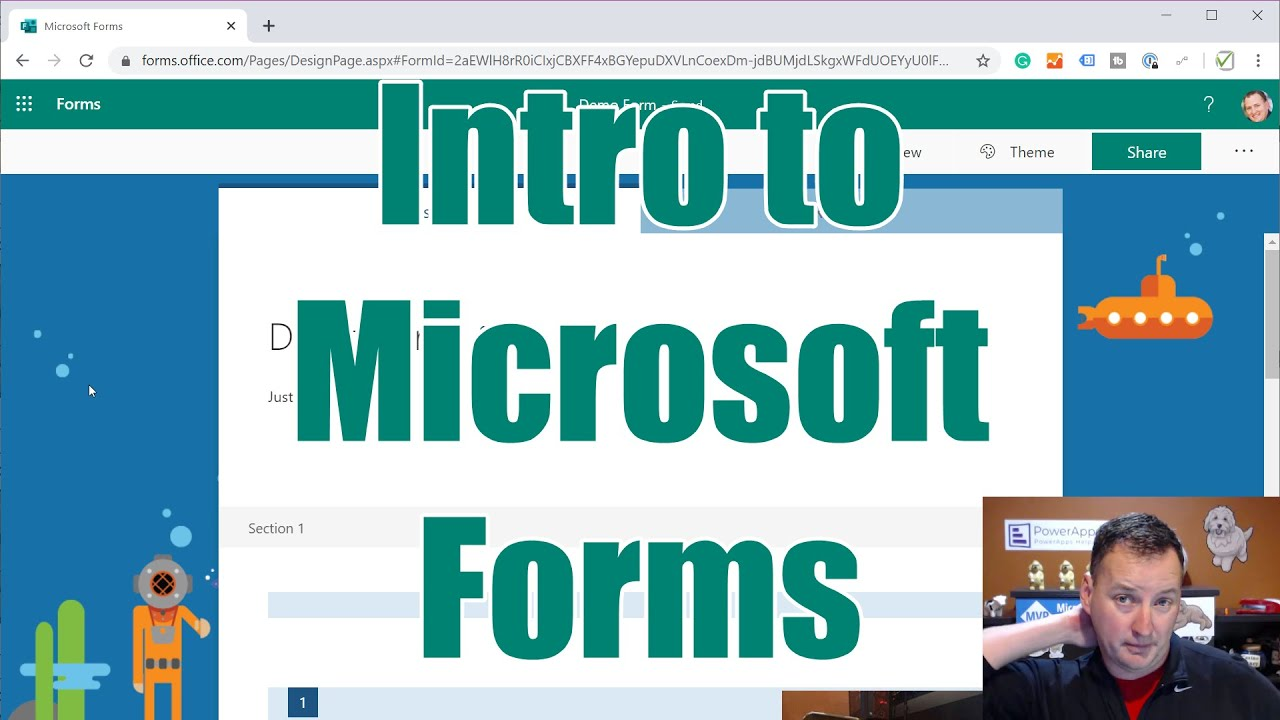 Microsoft Forms Video Series