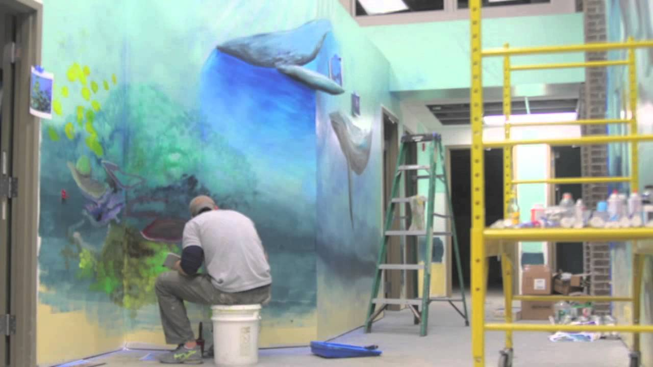 the lighthouse preschool mural youtube