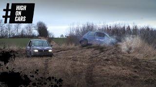 Markræs, hjulspin og tovtræk i skrotbiler - High on Cars