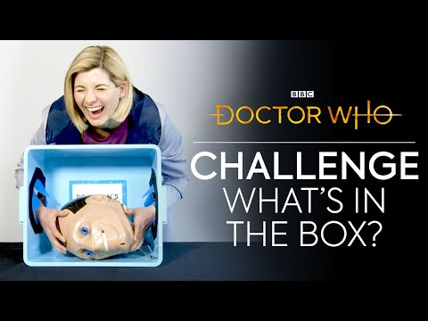 What's In The Box? | Jodie Vs Mandip Vs Tosin | Doctor Who