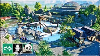 🐼 Japanese Macaque Habitat ft. Mike Sheets | Speed Build | Planet Zoo | Meilin Zoo | Ep. 6
