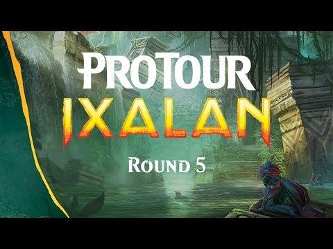 Pro Tour Ixalan Round 5 (Standard): Guillaume Matignon vs. Paul Rietzl