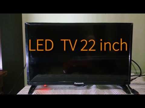 Short Review LED TV Panasonic Viera D305 22 inch Full HD1080p 2016