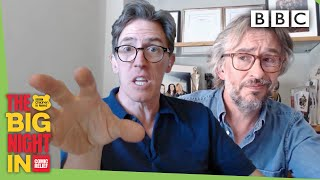Steve Coogan and Rob Brydon want to get 'lockdown famous' 😂  - BBC