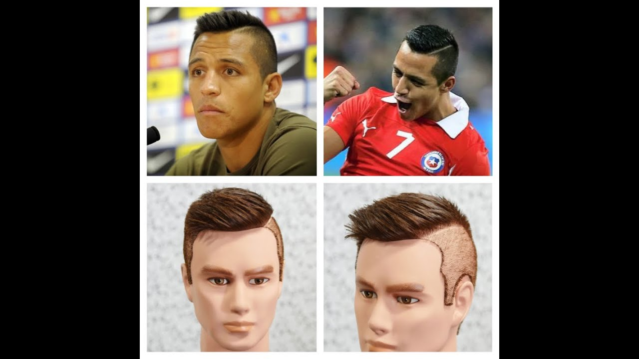 alexis sanchez haircut tutorial youtube