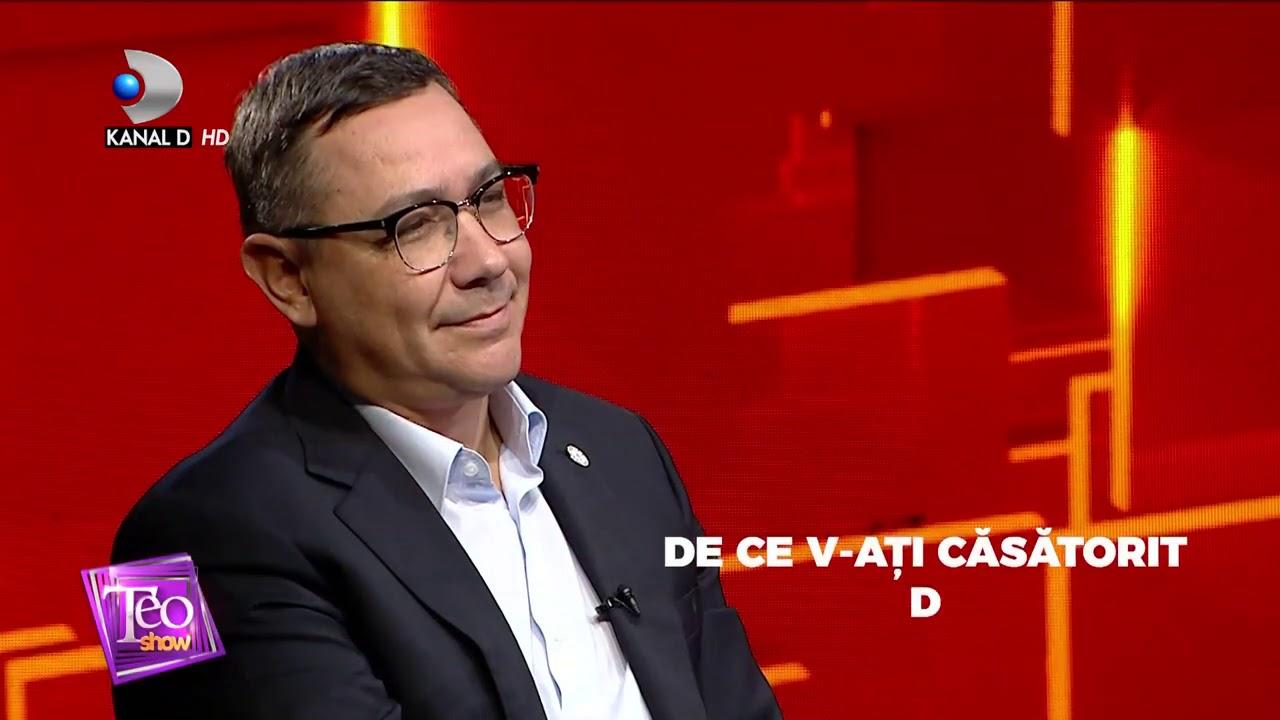 Teo Show(08.12.) - Victor Ponta, la