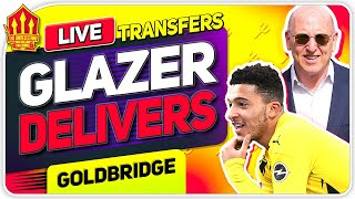 GLAZER Delivers SANCHO Transfer! Man Utd Transfer News