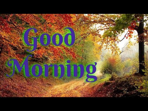 Good Morning Whatsapp Status Video Good Morning Images Photos Pics With Nature And Beautiful Music Youtube