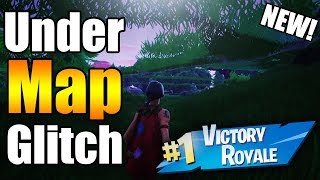 How to Get *UNDER THE MAP* Fortnite Glitches Season 6 PS4/Xbox one 2018