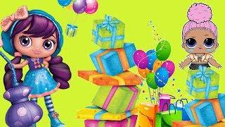 Małe czarodziejki & LOL Surprise • WOW! Stos prezentów • bajka po polsku