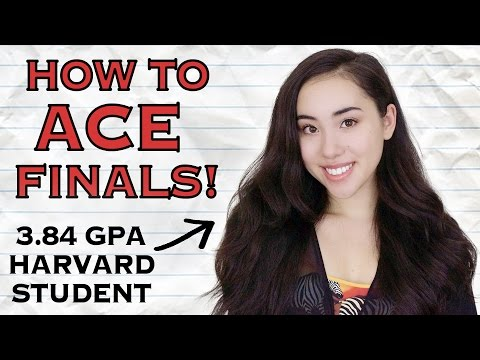 📚 HOW TO ACE YOUR FINALS | Study Tips from a Harvard Student! 💯