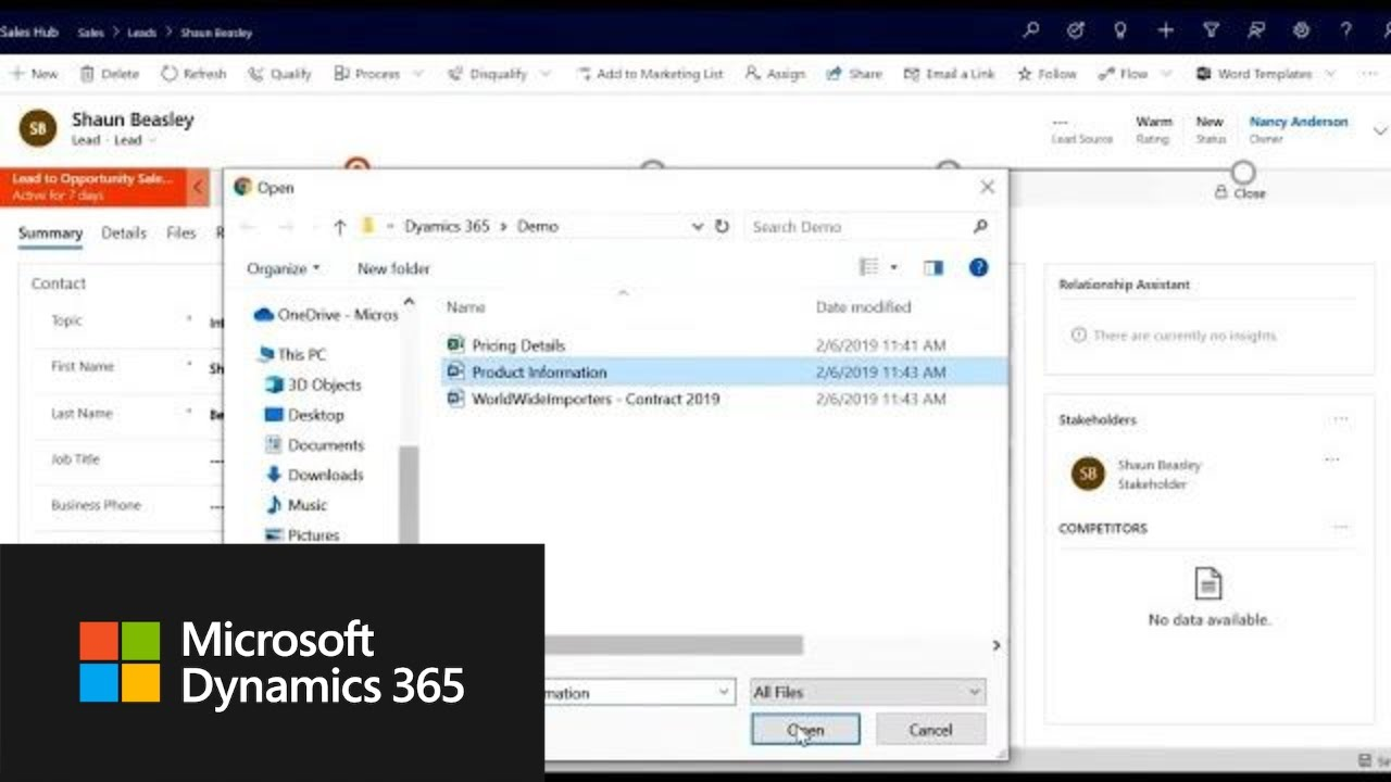 Dynamics 365 for Sales | 2019 release wave 2 overview