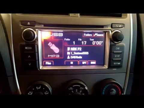 Dension DAB+U i 2013 Toyota Verso S