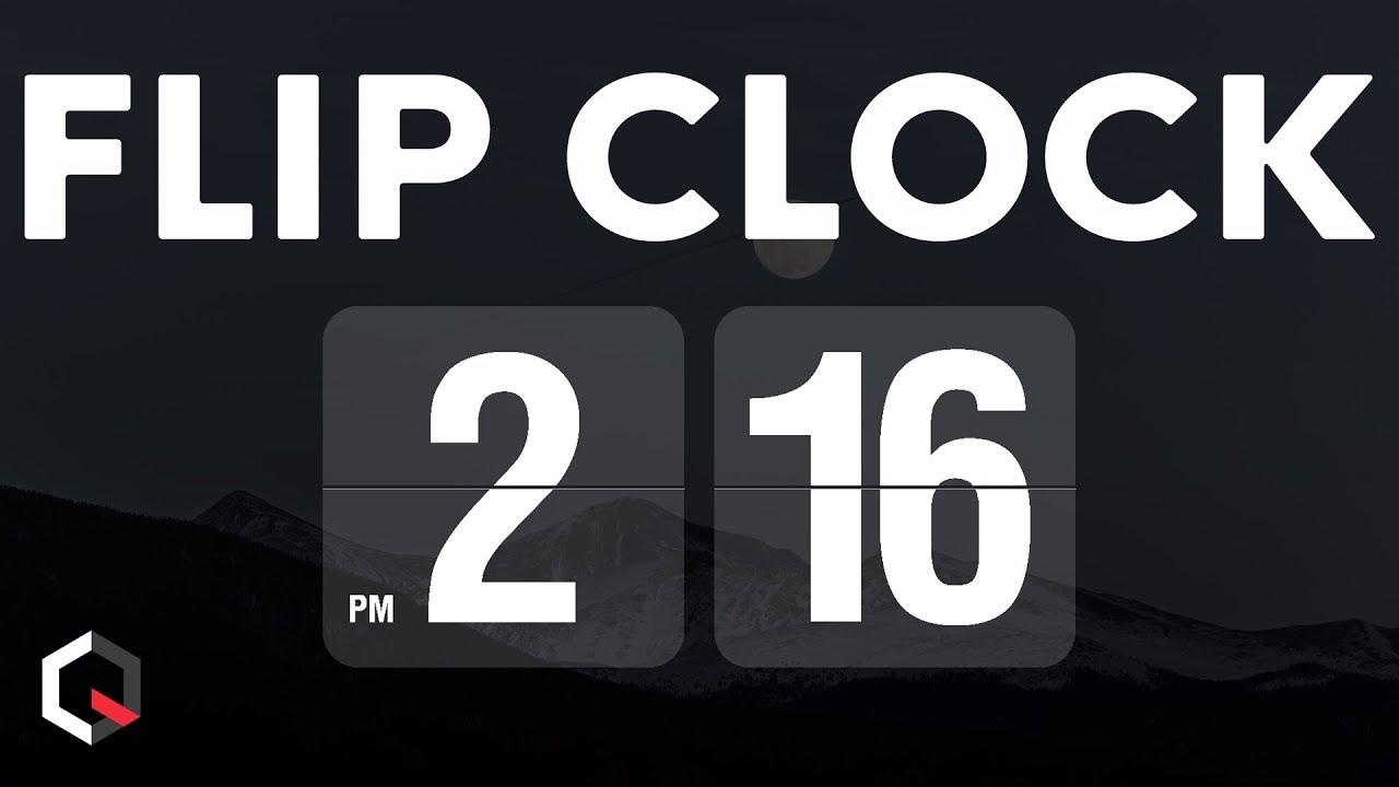Flip Clock Screensaver Mac Os
