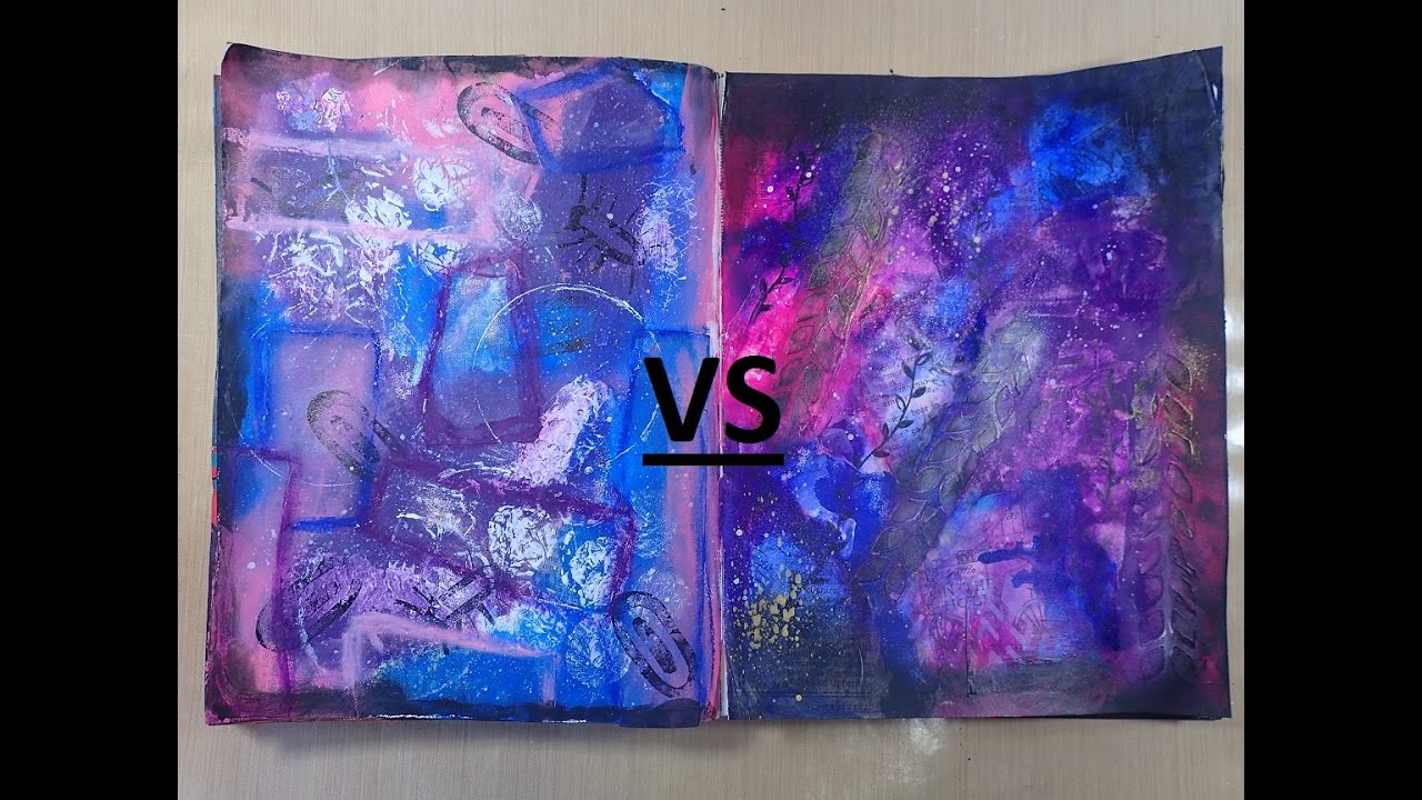 Arts and crafts supplies cheap - Craft Supplies Cheap Vs Branded Art Journal Process Page