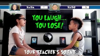 Kids Dad Jokes! | TRY NOT TO LAUGH CHALLENGE!! (PART 2)