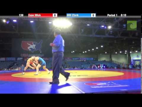 Men 138 - Evan Wick vs. Will Clark