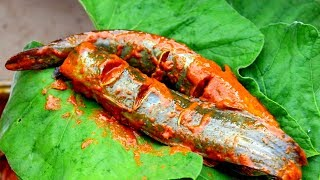 Lau Patay Desi Magur Mach Bhapa | Unseen and Rare Fish Cooking | Indian Village Food