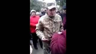 Лиманское Одесской обл.  против мобилизации