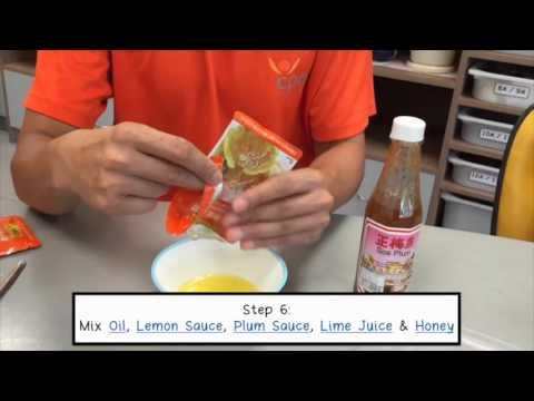 Yu Sheng Recipe Video