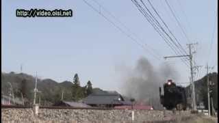 蒸気機関車 SL C58 秩父鉄道02